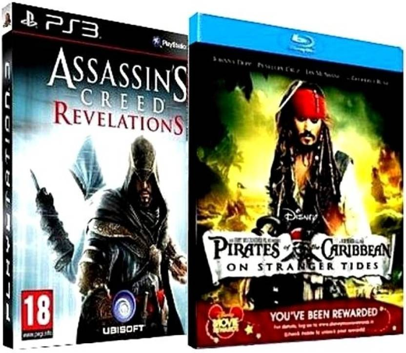 Action-Adventure Combo: Assassin's Creed - Revelations + Pirates Of The Carribean (BD)