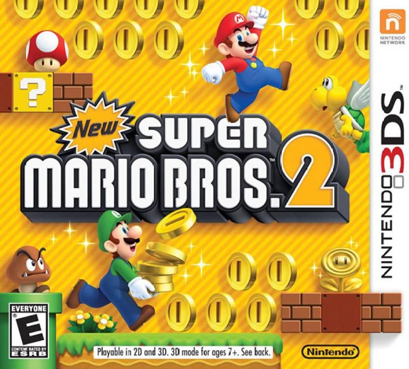 New Super Mario Bros  2 Price in India - Buy New Super Mario