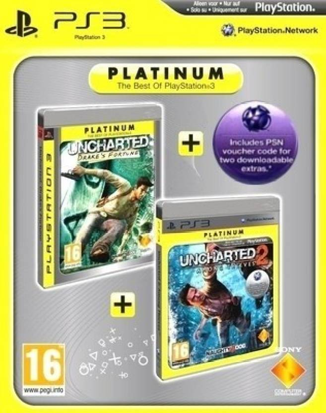 Uncharted : Drakes Fortune & Uncharted 2 : Among Thieves - Double Pack Bundle