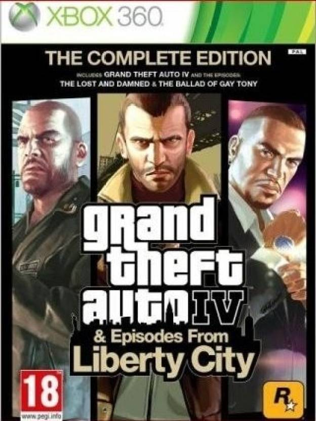 Grand Theft Auto IV & Episodes From Liberty City (Complete Edition)
