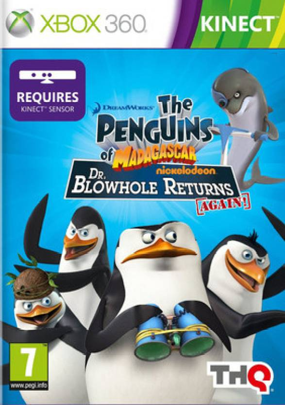 The Penguins Of Madagascar: Dr. Blowhole Returns Again! (Kinect Required)