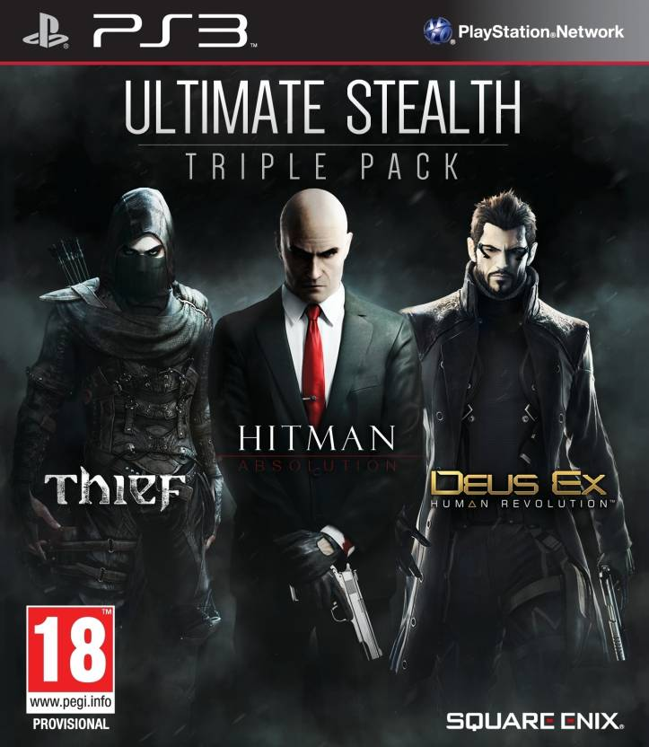 Ultimate Stealth Triple Pack (Includes 3 Games) Price in