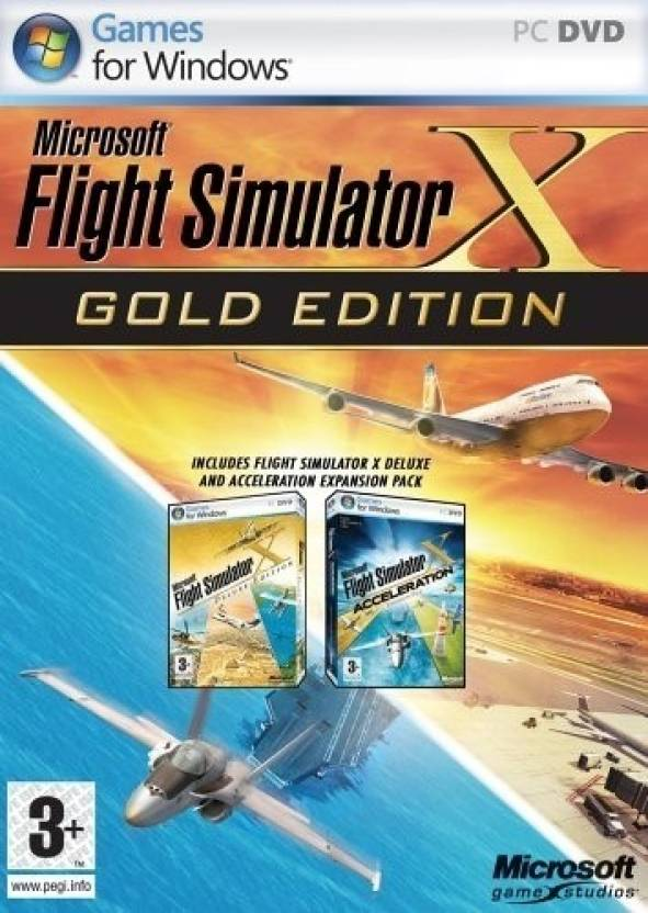 Microsoft Flight Simulator X (Gold Edition) Price in India - Buy