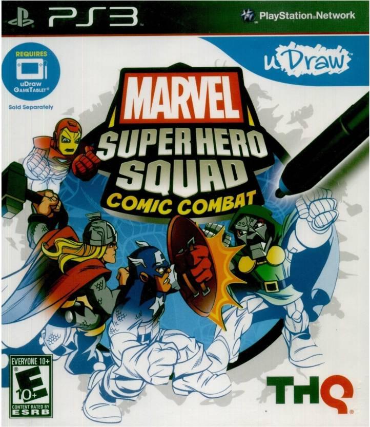 Marvel Super Hero Squad Comic Combat Price In India Buy Marvel