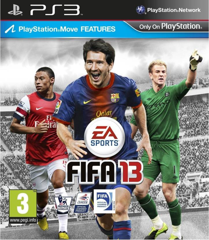 Fifa 13 Games PS3 - Price In India  Buy Fifa 13 Games PS3 Online at