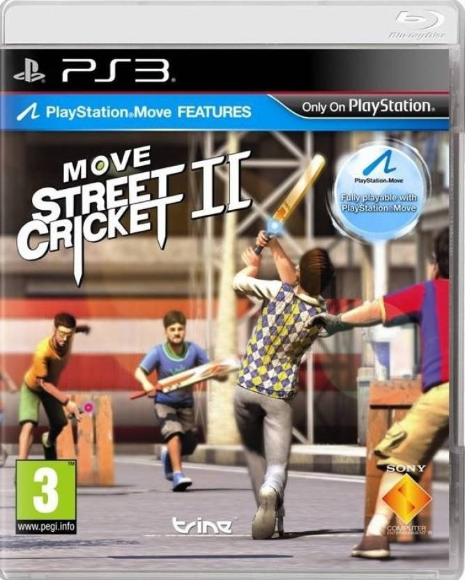 move street cricket ii games ps3 price in india buy move street
