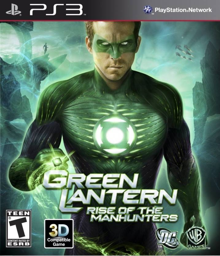Green Lantern : Rise Of The Manhunters