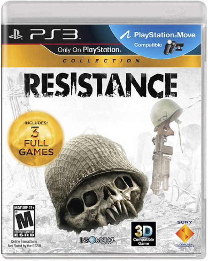 Resistance (Collection of 3 Full Games)