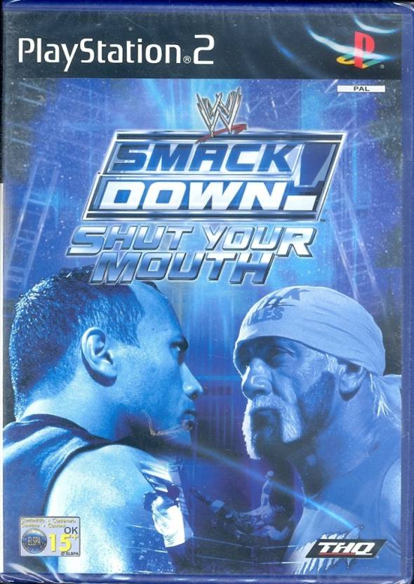 Wwe Smackdown : Shut Your Mouth [Platinum] Price in India