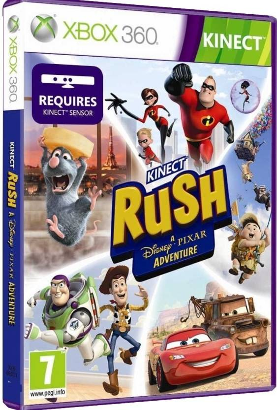 Kinect Rush: A Disney Pixar Adventure (Kinect Required)