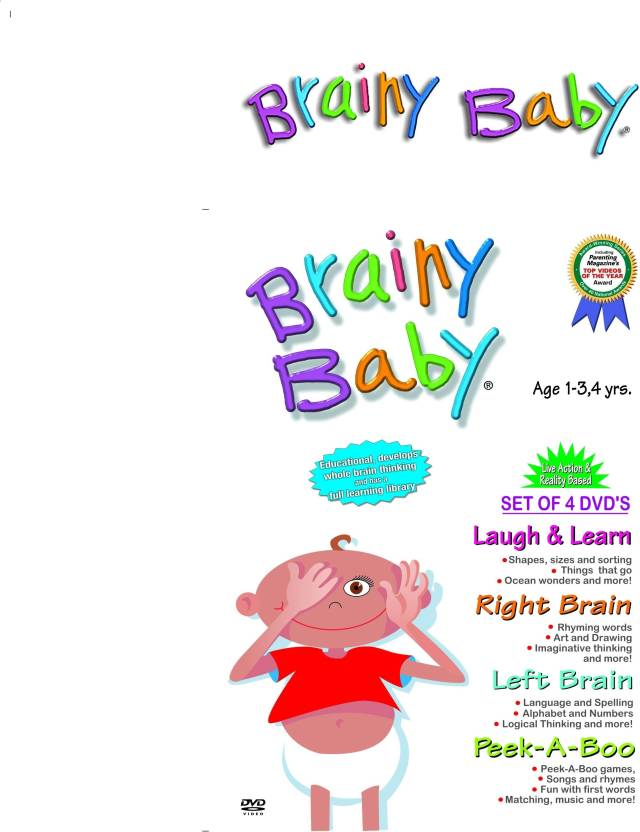 Brainy Baby - Laugh & Learn / Right Brain / Left Brain
