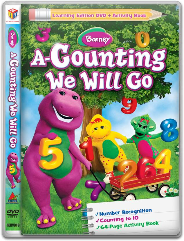 Barney: A-Counting We Will Go Price in India - Buy Barney: A ...