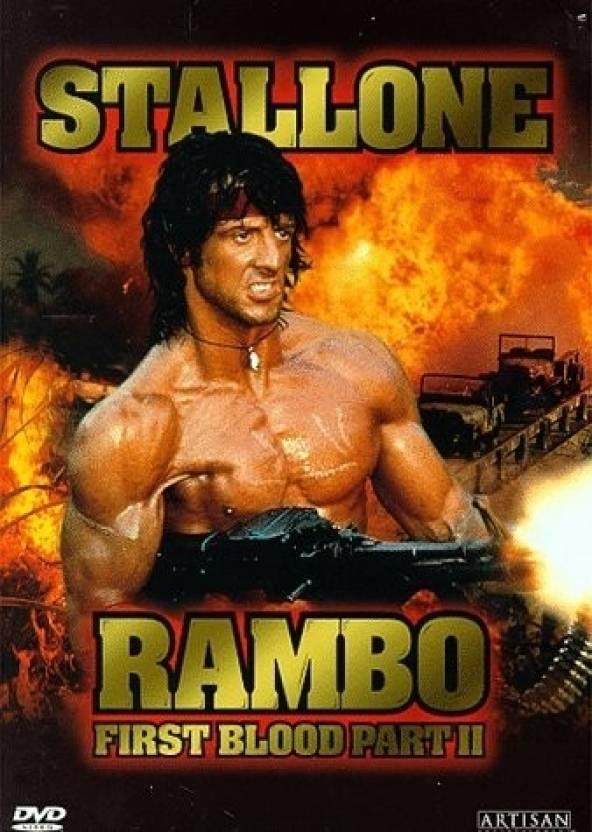 Rambo First Blood II (Hindi Dubbed) Price in India - Buy