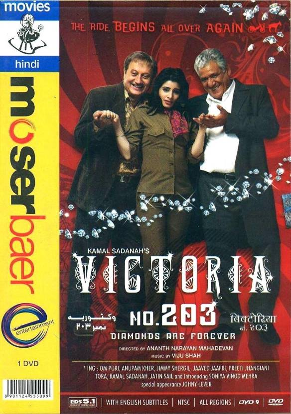 Victoria No 203 - New Movies DVD - Price In India  Buy Victoria No