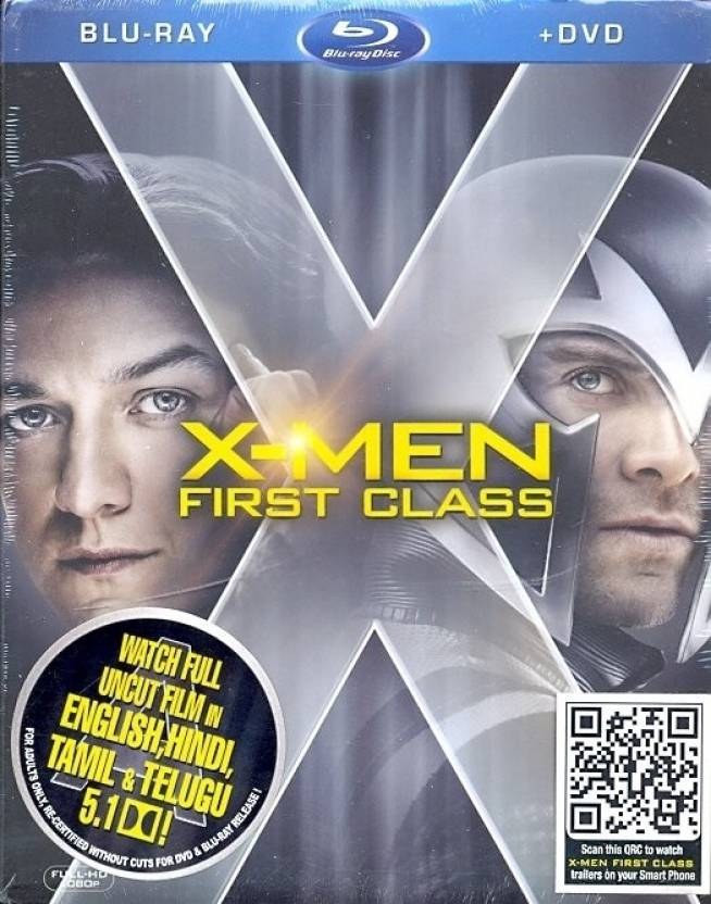X-Men - First Class(Blu-Ray+DVD)
