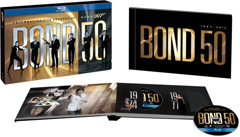 James Bond 50th Anniversary Bluray Box Set
