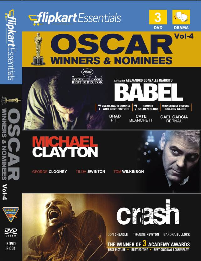 Flipkart Essentials : Oscar Winners & Nominees Vol. 4