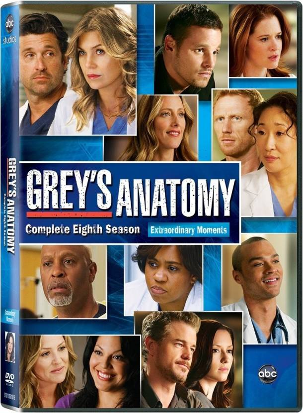 Greys Anatomy Season 8 8 Price In India Buy Greys Anatomy Season