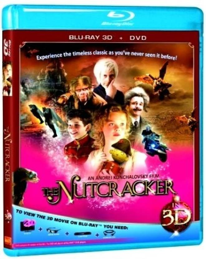 The Nutcracker 3D (Blu-Ray + DVD)