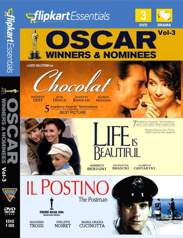 Flipkart Essentials : Oscar Winners & Nominees Vol. 3
