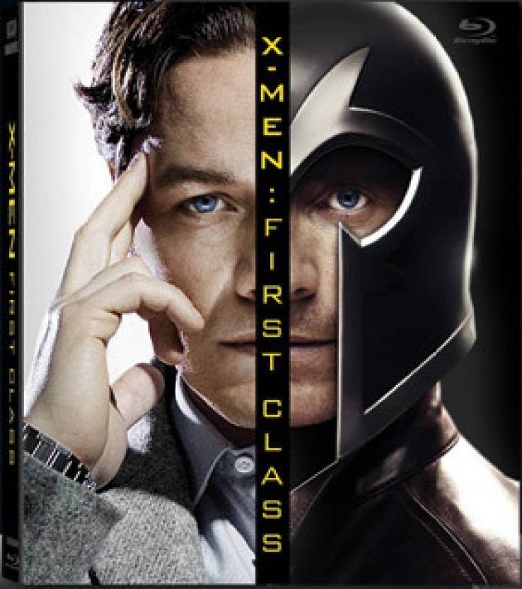 X-Men First Class (Blu-Ray + Collectible Book)