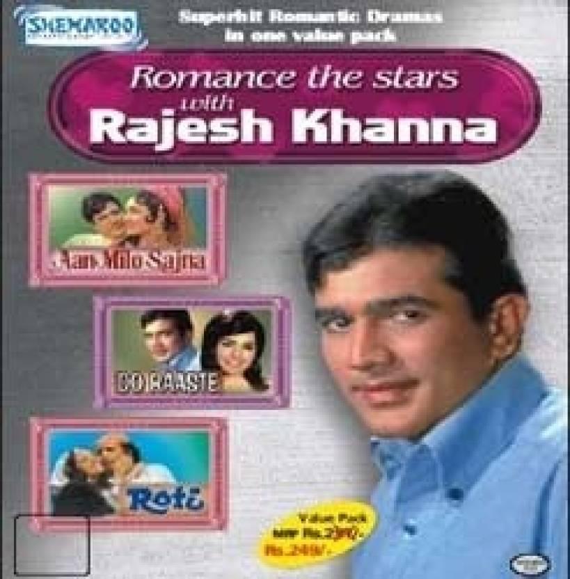 Romance The Stars - Rajesh Khanna (Aan Milo Sajna-Do Raaste-Roti