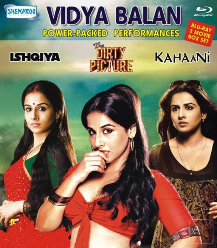 Vidya Balan 3 Movie Blu Ray Box Set