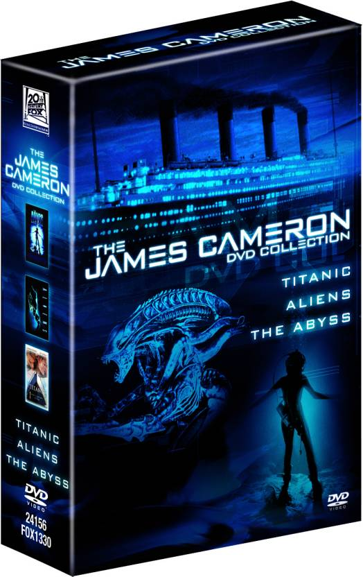 The James Cameron DVD Collection (Titanic Aliens The Abyss)