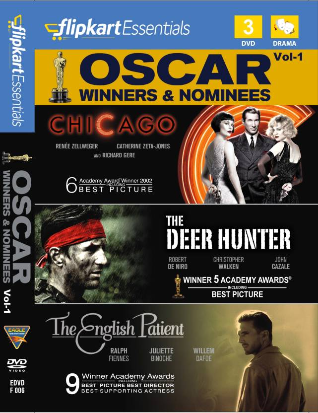 Flipkart Essentials : Oscar Winners & Nominees Vol. 1