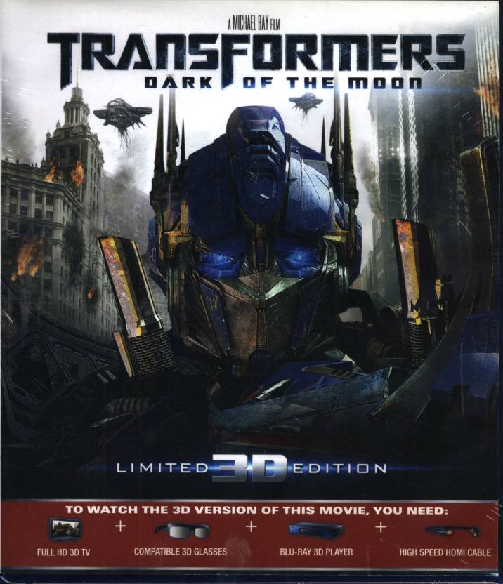 Transformers Dark Of The Moon 3D