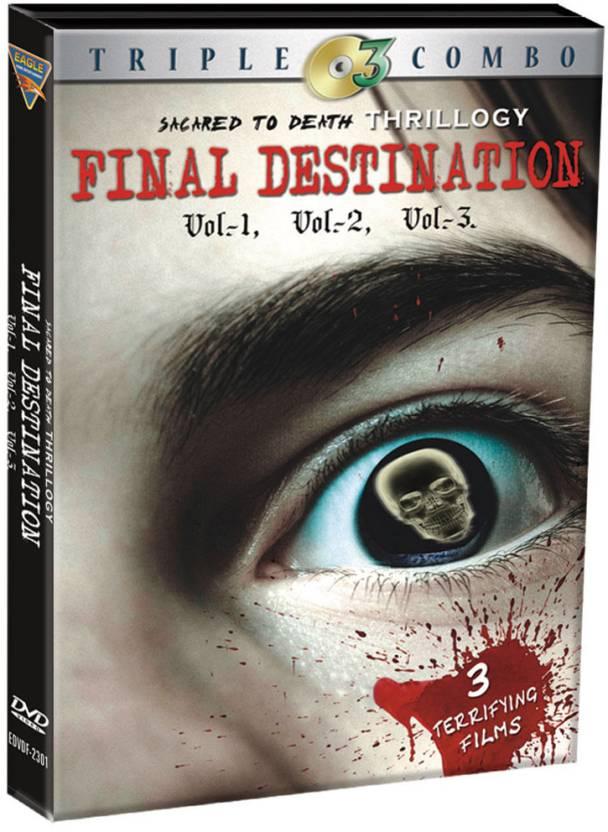 Final Destination Trilogy (Set Of 3 DVD's)
