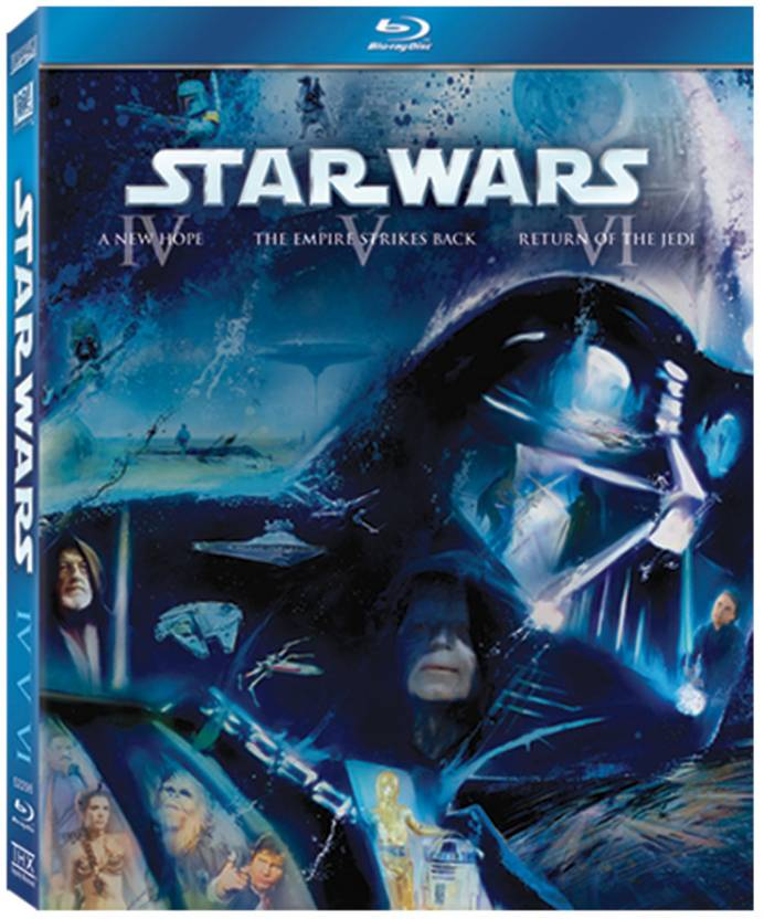 Star Wars Original Trilogy (Episodes IV,V & VI)