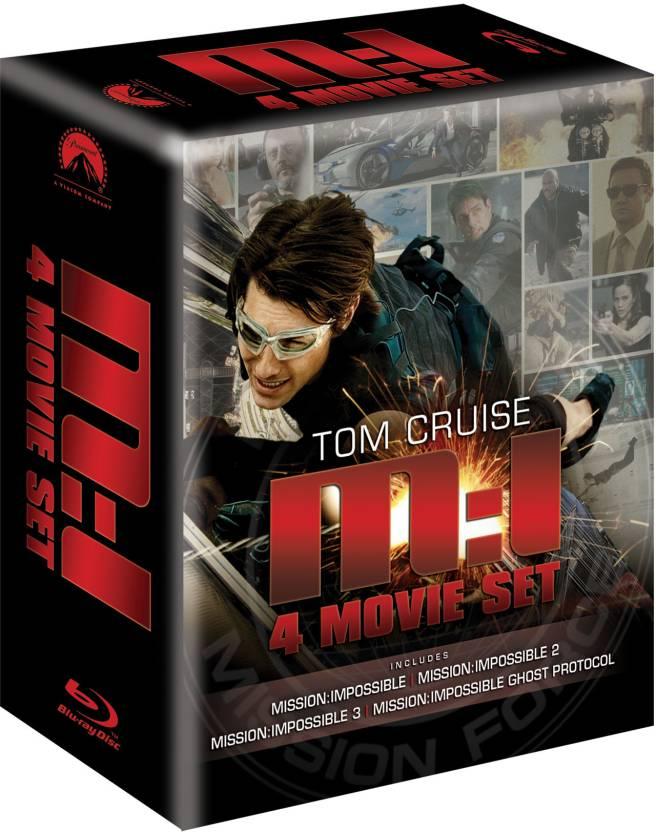 Mission Impossible Quadrilogy (4 Movie Box Set)