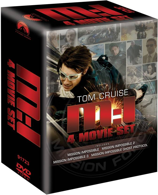 Mission Impossible Quadrilogy (4 Movie Box Set)