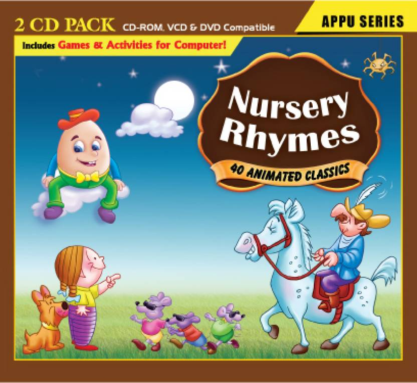 Nursery Rhymes 2 Cd Pack