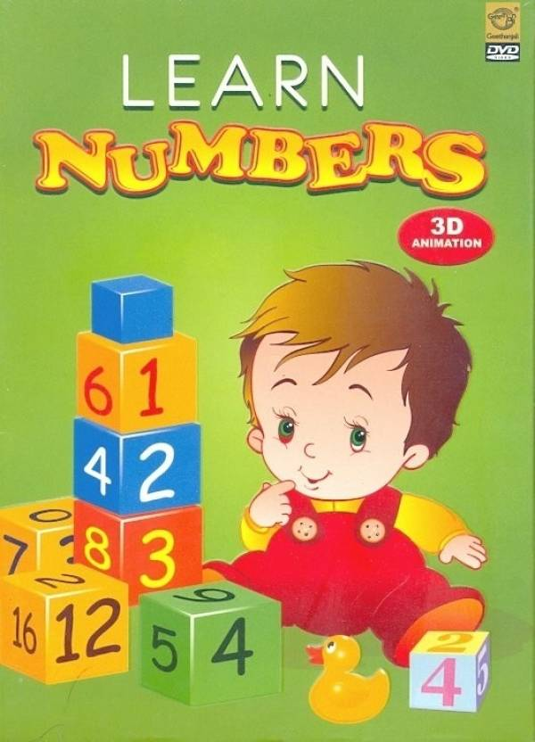 Learn Numbers - 3D Animation Price in India - Buy Learn Numbers - 3D