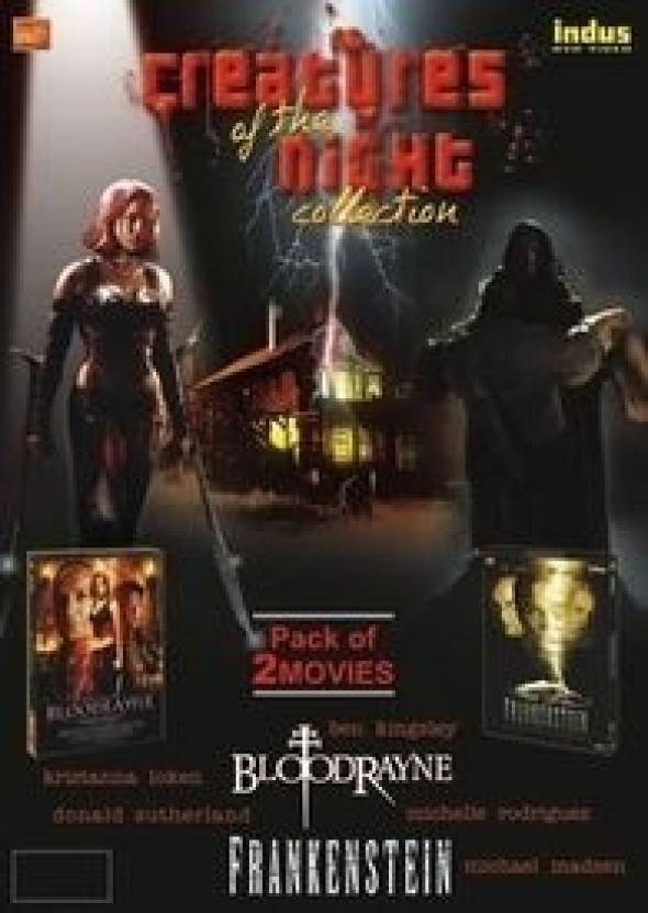 Creatures Of The Night Collection - Set Of 2 Movies: 'Bloodrayne' + 'Frankenstein'