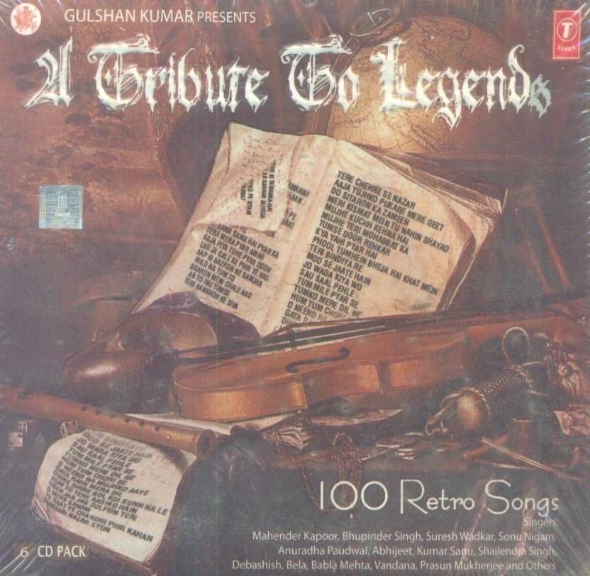21 Tribute to Legends - 100 Retro Songs Music Audio CD - Price In