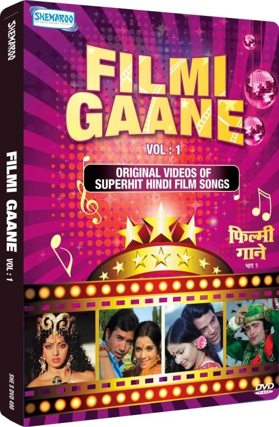 Filmi Gaane Vol: 1 Original Videos Of Superhit Hindi Film Songs