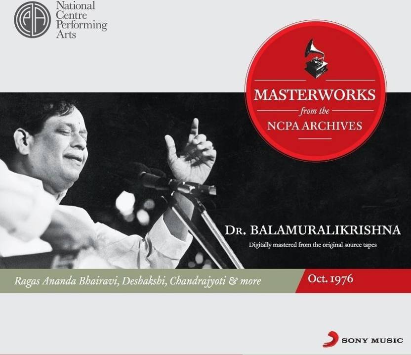Masterworks From The NCPA Archives - Balamurali Krishna