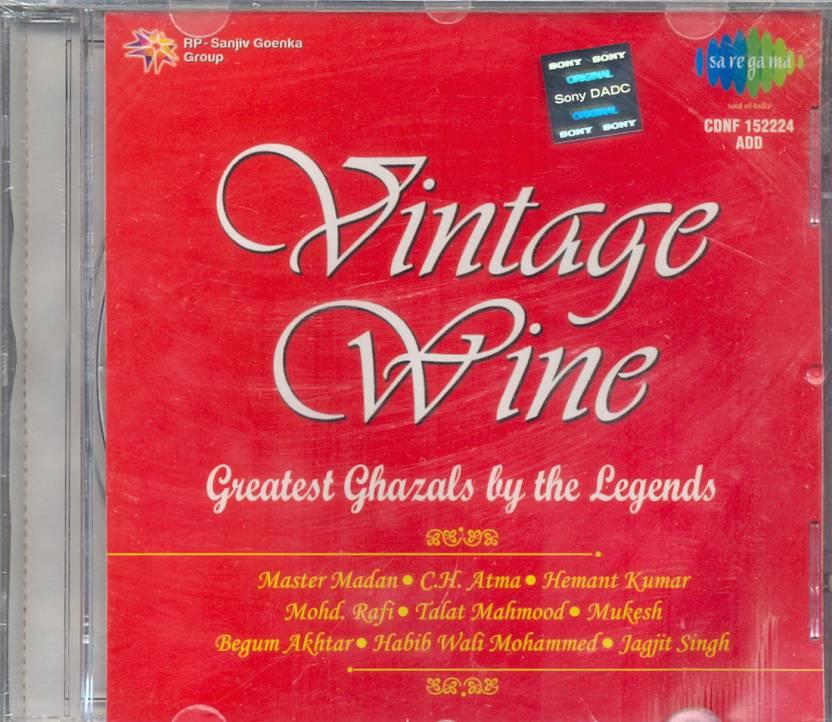 Vintage Wine -Ghazals