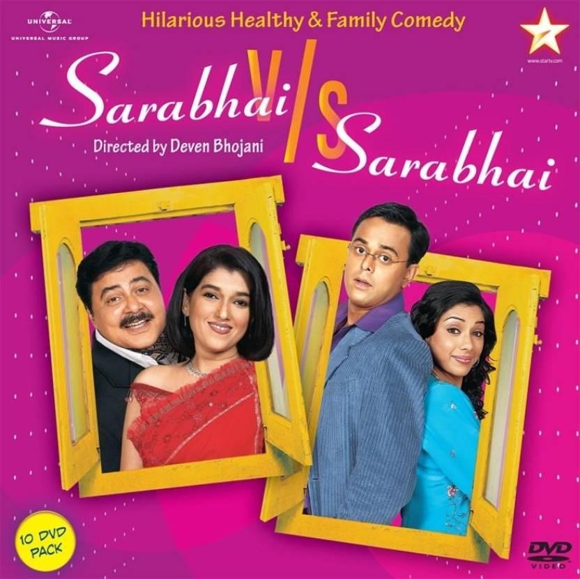 Sarabhai V/s Sarabhai 10 DVD Pack Complete