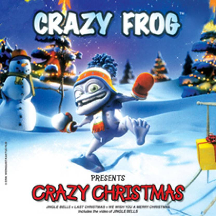 Crazy Frog-Crazy Christmas Music Audio CD - Price In India. Buy ... 726a0612c3666