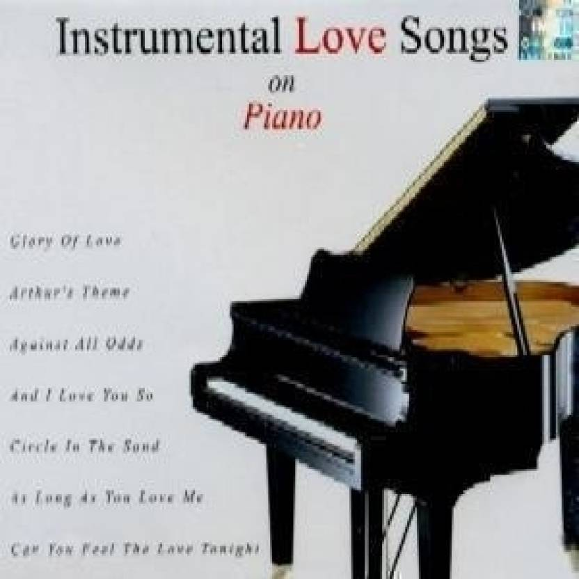 Instrumental Love Songs On Piano Music Audio CD - Price In