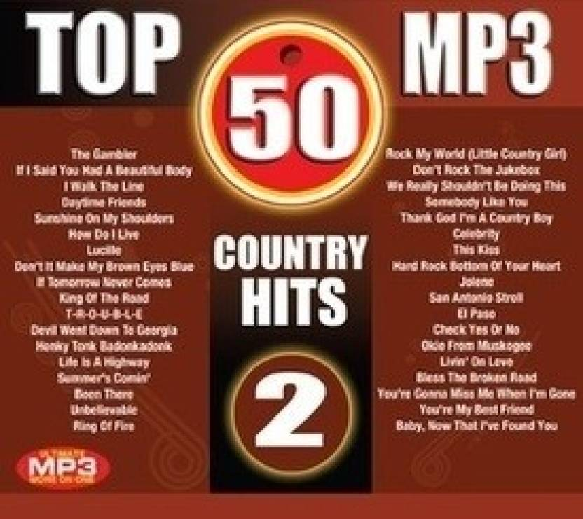 Top 50 MP3-Country Hits - 2 (Cover Version)