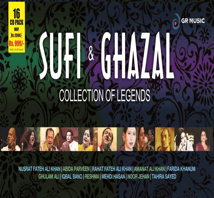 Sufi & Ghazal:Collection Of Legends (16 CD Pack)