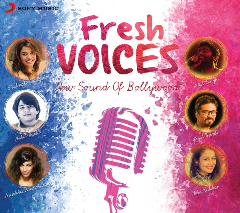 Fresh Voices - New Sound Of Bollywood Audio CD Standard Edition