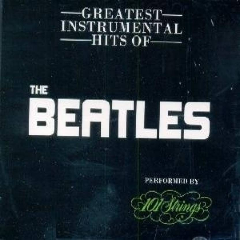 Greatest Instrumental Hits Of -The Beatles Music Audio CD