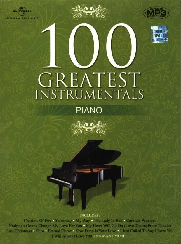 100 Greatest Instrumentals: Piano (Cover Version)