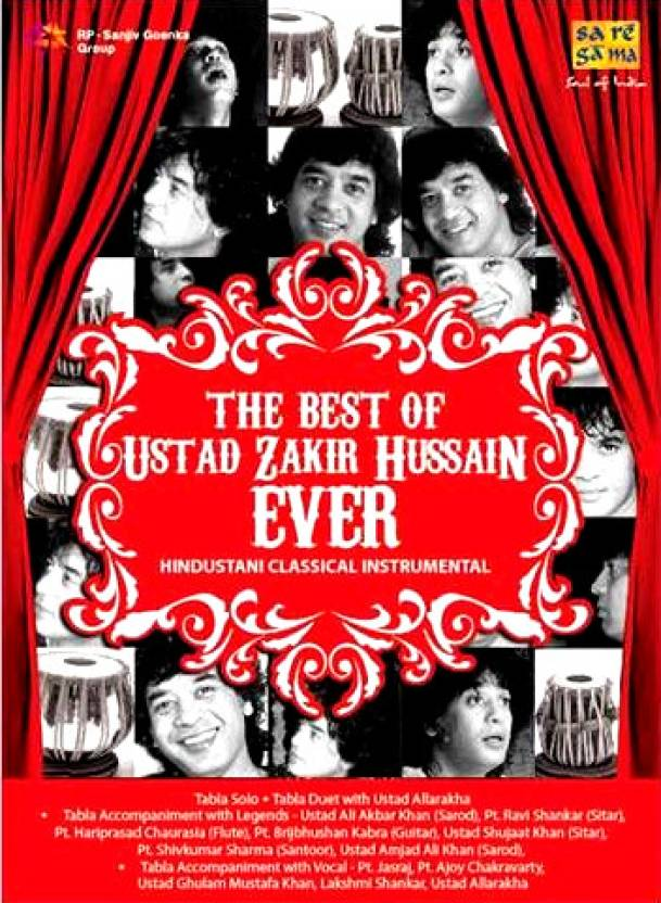 The Best Of Ustad Zakir Hussain Ever(Instrumental)